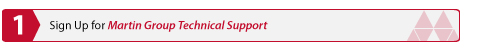 Sign Up for Martin Group Technical Support